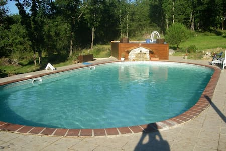 GÎTE GEAIS  8 persons in the Causse - Chartrier-Ferrière