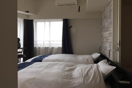 Classy Tower Apt / Panoramic view / 4min Shinjuku - Shinjuku-ku - Apartment