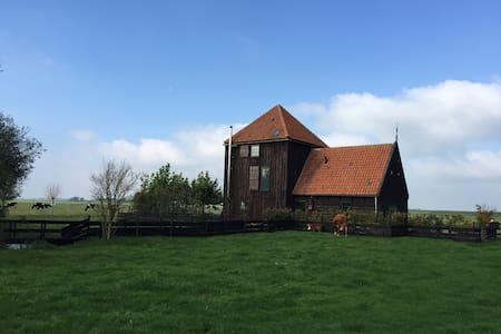Huge house 12p near Amsterdam - Casa