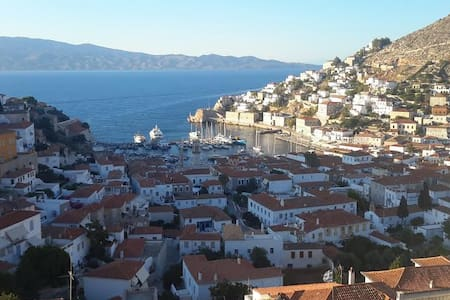 Hydra's view house-Panoramic view to hydra's town - Hydra - Apartment
