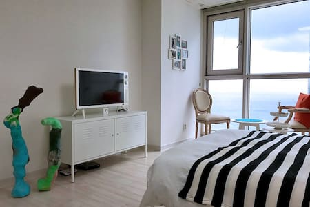 Art House + Haeundae Beach View - 부산광역시 - Apartamento