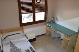 Picture of Single room with view terrace in Girona