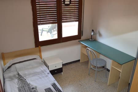 Single room with view terrace in Girona - Wohnung
