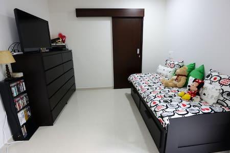 Private Bedroom w/Bathroom & AC - Apartment