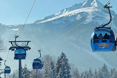 Apartment, 2 bedroom, close to Gondola and centre.
