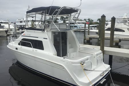 31 Foot Boat in World Class Marina - Fort Lauderdale - Boot