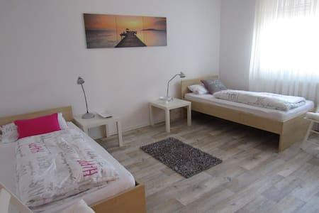 Neu renovierte Gästezimmer bei Volkach am Main - Kolitzheim - Apartamento