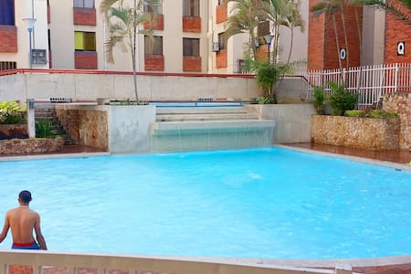 Charming apartment with gardens and swimming pool - Cali - Apartment