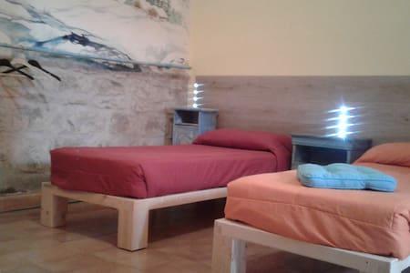 Camera  da letto con letti singoli - Bed & Breakfast
