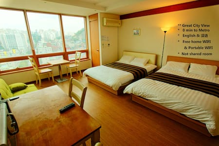 Promotion! Mountain village View. 0 min to subway. - Appartement