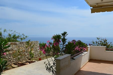 Sea View Apartment with Garden in Qeparo - 074 - Qeparo - Daire