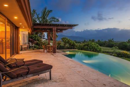 3 bd, ocean views from every room - Kilauea - Dům