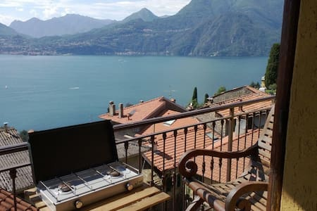 Apartment with big lake views & private parking - Apartment