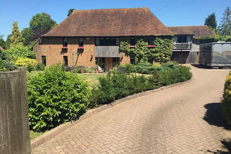 Detached, open plan, south facing, barn apartment. - Appartement