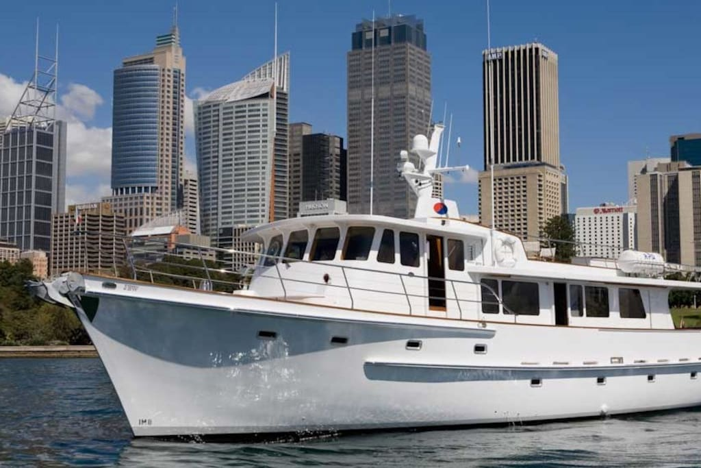 Magnificent Motor Yacht