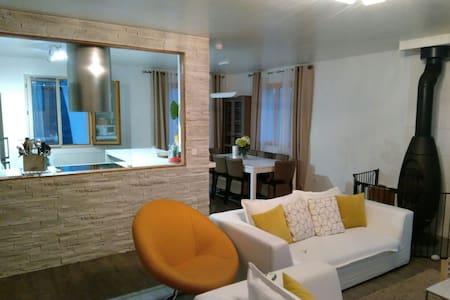 Deux chambres dans le calme total. - Saint-Martin-du-Tertre Bourgogne Franche-Comté, FR - Haus