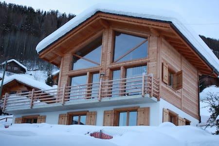 Stunning chalet for summer or winter - Siviez - Almhütte