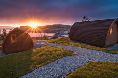 Luxury Cowshed Pods - Uig - Inny
