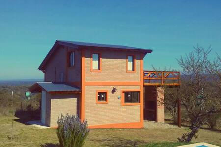 Cabin with balcony Amazing views! - Villa General Belgrano