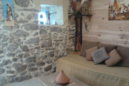 Bivouac tipi land - Le Soulié - Dům