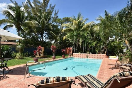 Private Villa Espagna Oasis at Ft Lauderdale Beach - Fort Lauderdale