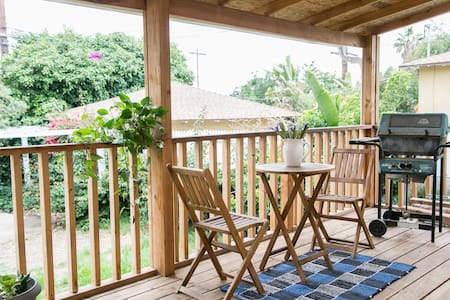 Quiet room with deck by mountains - Altadena - Hus