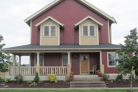 Custom built 3BD/2.5BA home in Oregon wine country - Haus