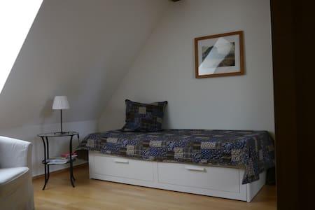 modernes Zimmer im Fachwerkhaus - Münchenstein - Appartement