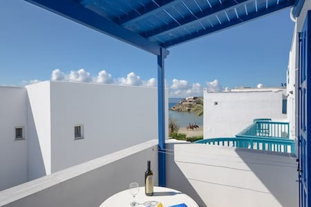 Family Apartment with 2 rooms (4-5 persons) - Naxos - Bed & Breakfast