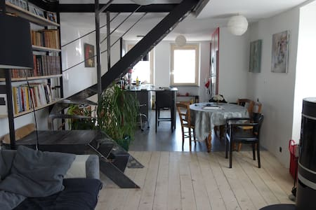 Maison de village, esprit loft - Appartement