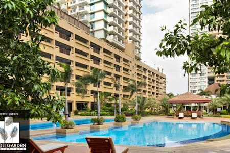 A Home Just At the Back of Makati (Tivoli Garden) - Mandaluyong - Appartement en résidence