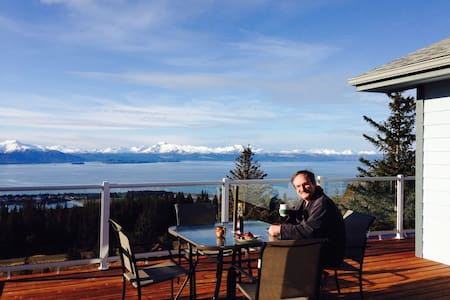 Cloud 9 Bed & Breakfast in Homer, Alaska - Szoba reggelivel