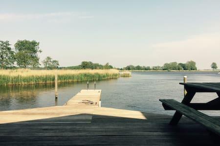 Prachtige woning aan 'de Groene Ster'natuurgebied! - Leeuwarden