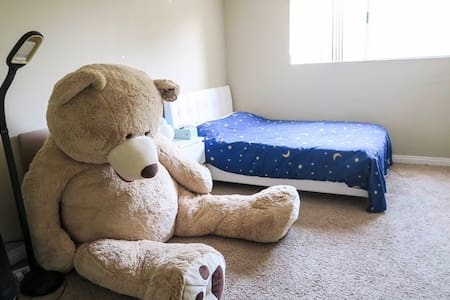 bear room!舒适的独立公寓套房,静谧安全的环境 - Сан-Гейбриел