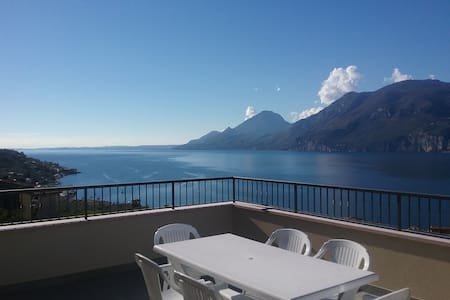 Apartment Ninfea lake view - Brenzone sul Garda - Huoneisto
