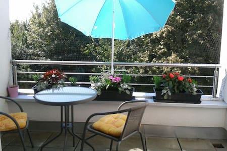 Kleines Zimmer mit sonnigen Balkon in Landau Süd - Reihenhaus