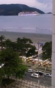 Frente a praia,vista maravilhosa em santos - Santos - Apartment