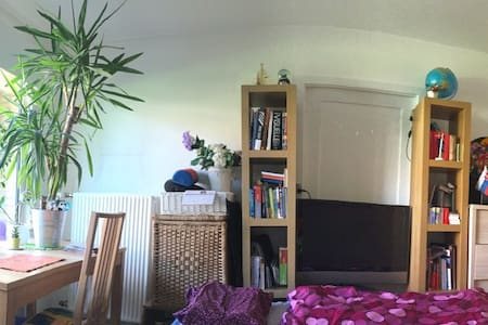 Silent&cheap place-close to capital - Lyngby - Apartment