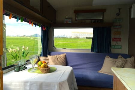 Cosy Caravan on a Dairy Farm - Thornton
