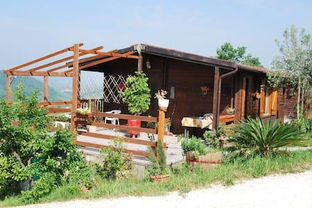 bungalow in legno in agriturismo - Bungalow
