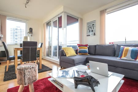 Double bedroom in modern flat - London - Apartment