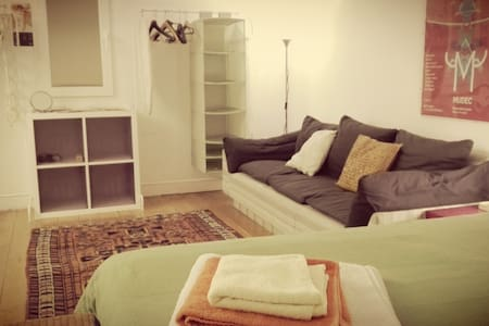 Tatami room with desk & sofa 榻榻米 - Milano - Loft