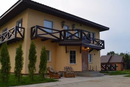 Дом на берегу озера - Viciebsk - Casa