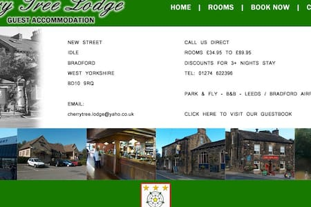 Idle Village location,  Leeds/Bradford airport . - Casa de hóspedes