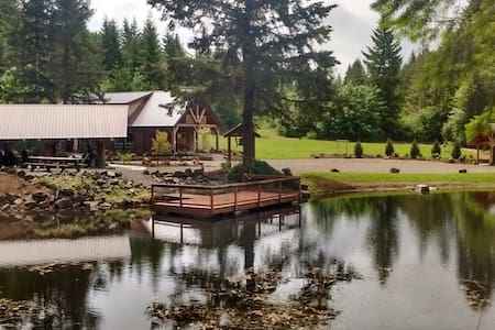 Cozy yurt in private park with bike trail access - Vernonia - Iurta
