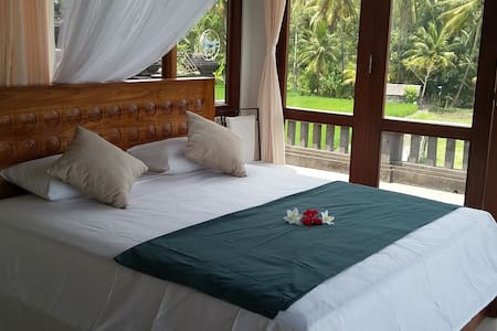 Fabulous room with ricefield view 3