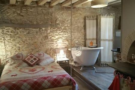Spa piscine campagne,Lila des bois❤ - Nointel - Bed & Breakfast