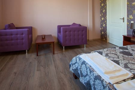 Апартаменты для двоих стандарт-класса - Sumy - Chambres d'hôtes
