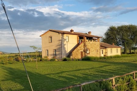 b&b La Rugantina - Camera Lavanda - Family Room - Cortona - Bed & Breakfast