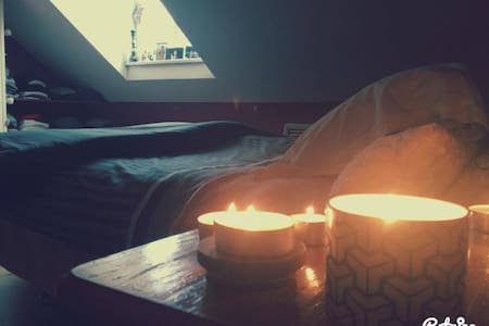 Hey Everyone,   My room is in a little house situated on the building roof top in the city centre close to the Shop Street and Eyre Square with a lot of pubs and nightclubs